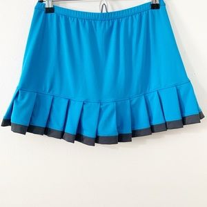 Bolle High Performance Pleat Athletic Sports Skirt